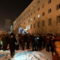 Студенты вышли на флешмоб в честь 75-летия Победы
